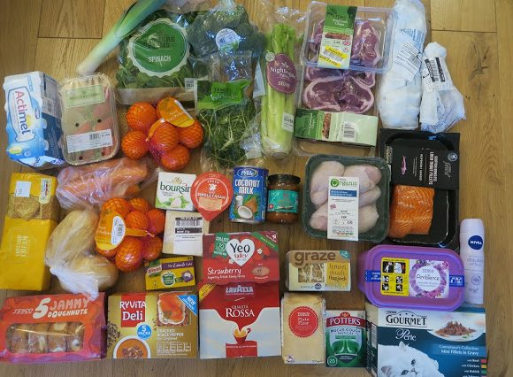 Quick and Easy Weekly Meal Plan (under £65 from Tesco)