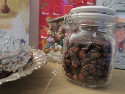 BBQ-Spiced Nuts   BLOGMAS DAY 15