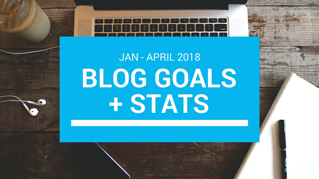 My Blog Goals Jan – April 2018 + Stats