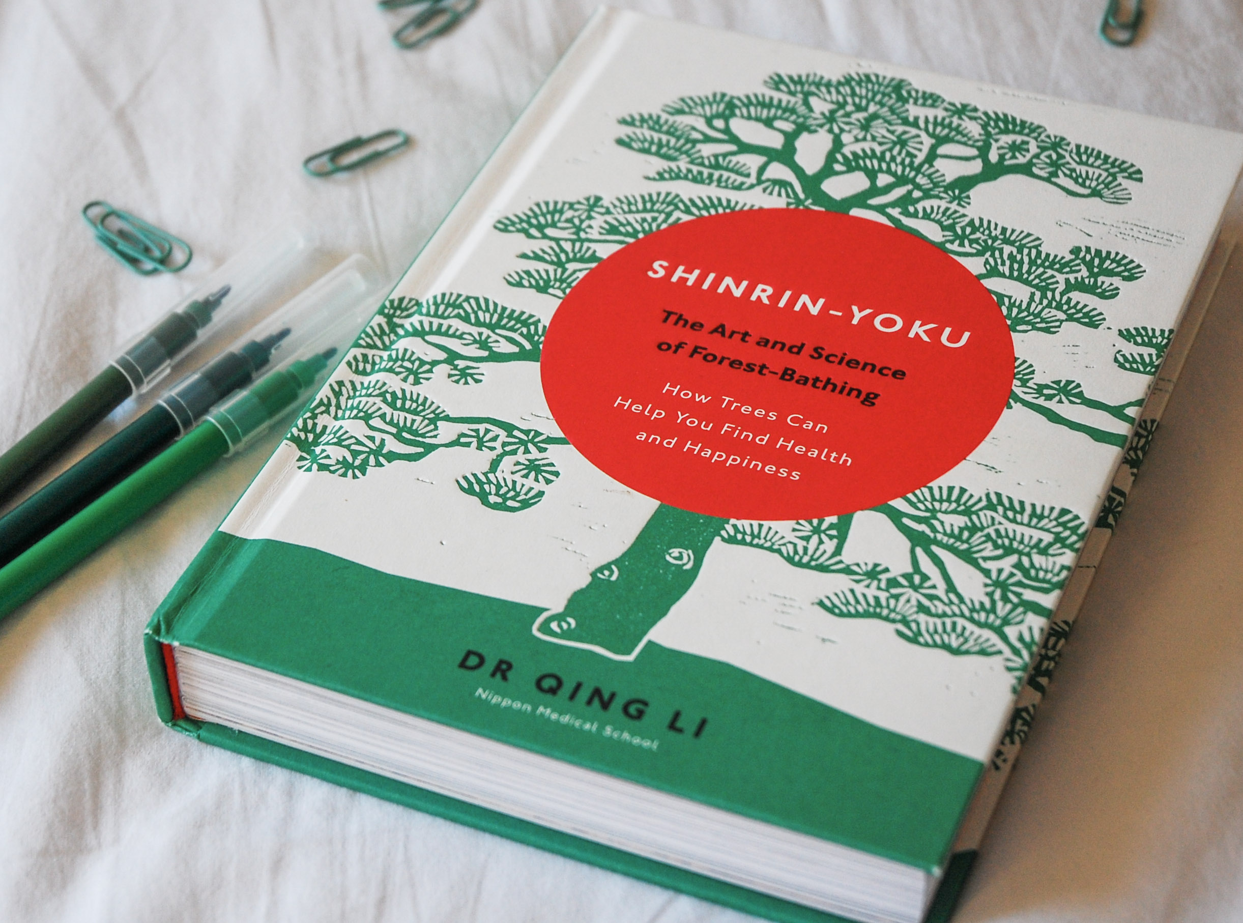 Shinrin-Yoku The Art and Science of Forest-Bathing by Dr Qing Li | BOOK REVIEW
