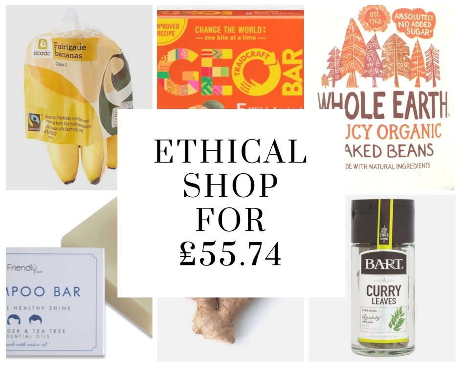 How To Be An Ethical Consumer for £55.74  | 5 Day Meal Plan for Two