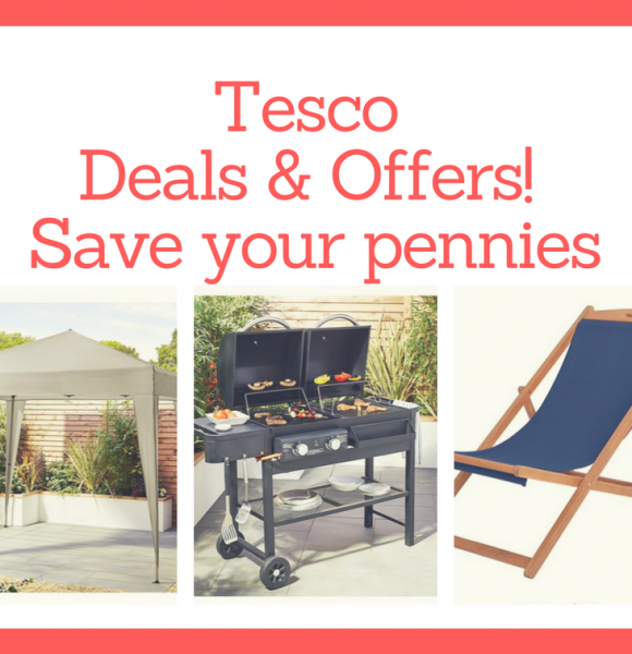 How to best enjoy your garden with these amazing Tesco offers!